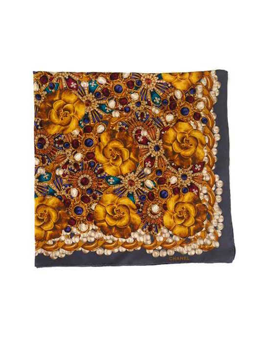 Scarf CHANEL Multicolor Silk