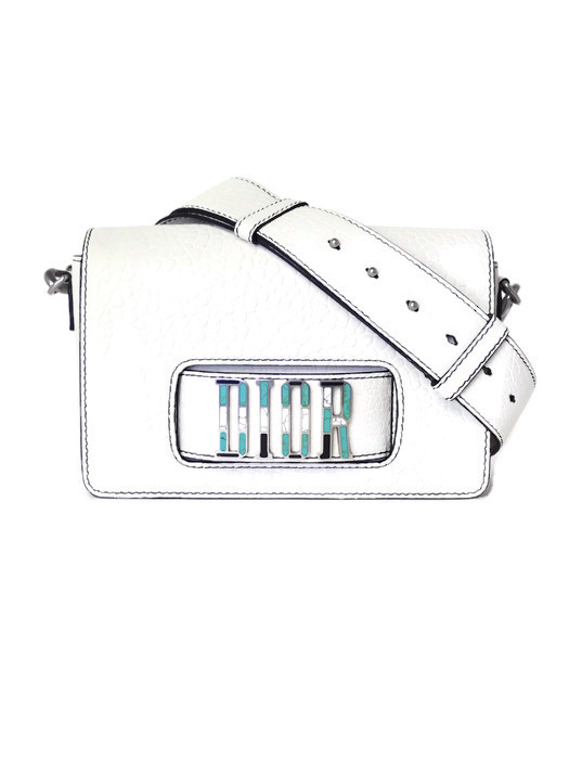 Bag CHRISTIAN DIOR Mosaic Dio-R-Evolution Off-White Lambskin