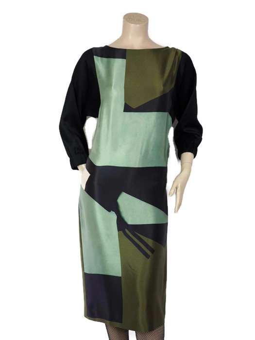 Dress DRIES VAN NOTEN Graphic Print Size S