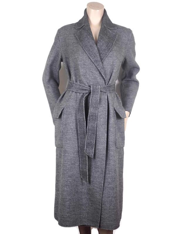 Coat MAX MARA Reversible Grey Wool Size M