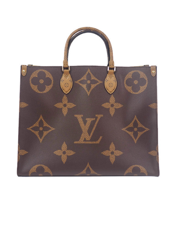 Bag LOUIS VUITTON Onthego Giant Monogram Reverse Canvas GM