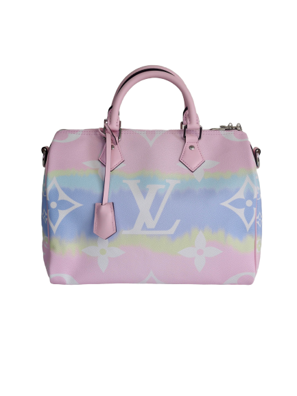 Bag LOUIS VUITTON Speedy 30 Giant Monogram Pink Pastel Canvas